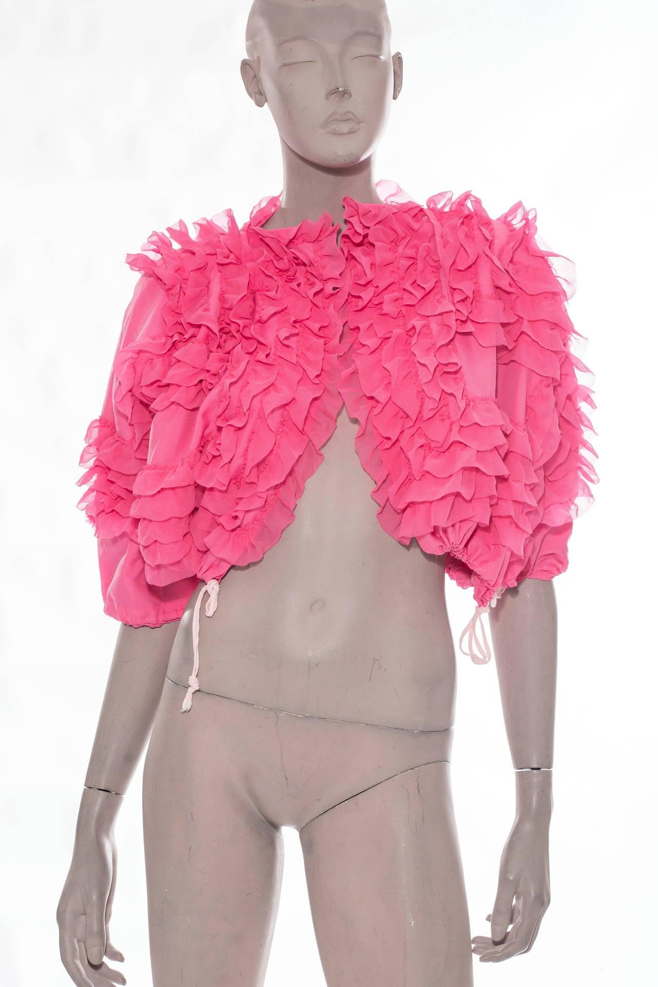 Comme des Garcons Pink Bolero, Circa 2007 2