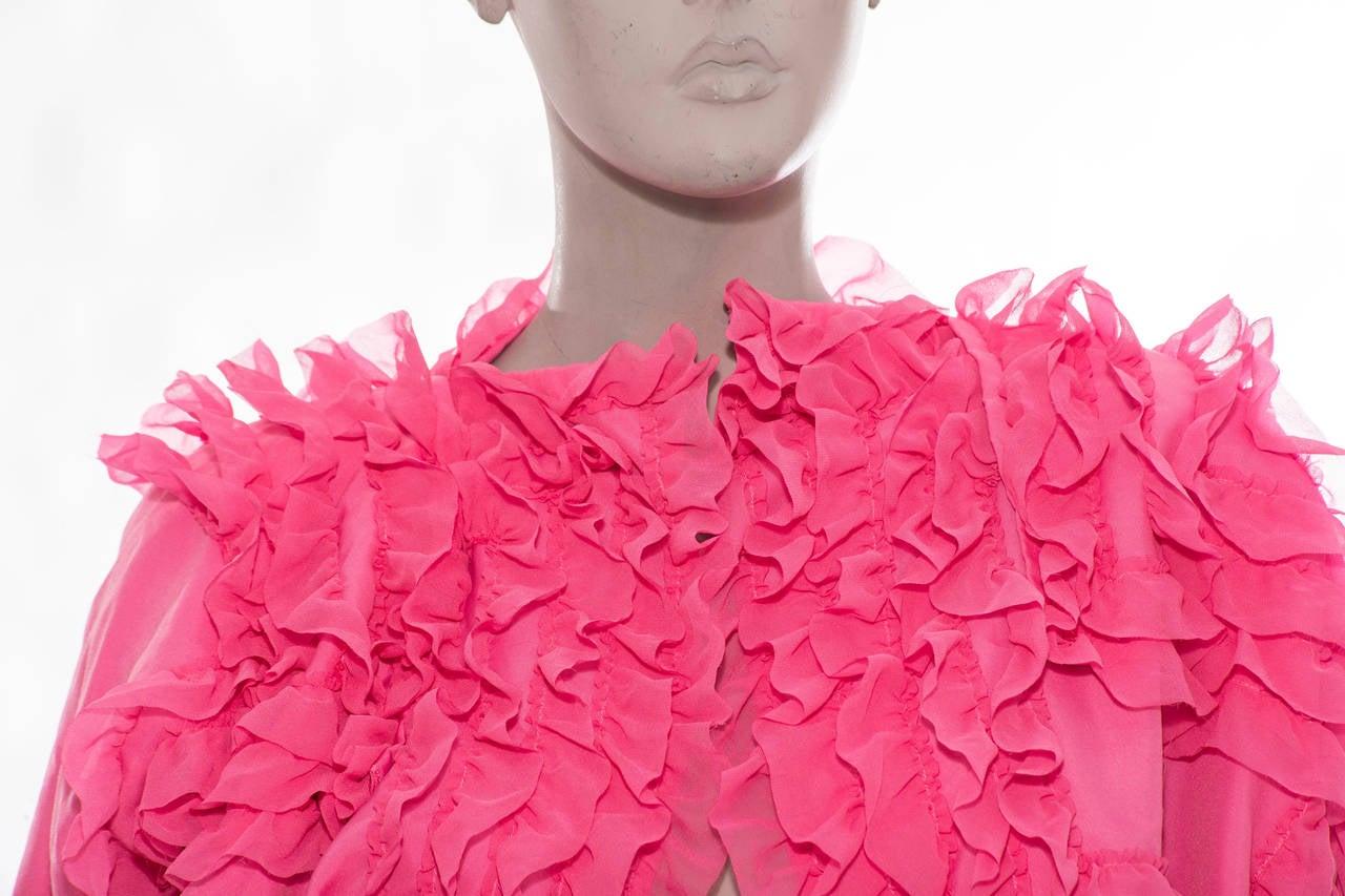 Comme des Garcons Pink Bolero, Circa 2007 6