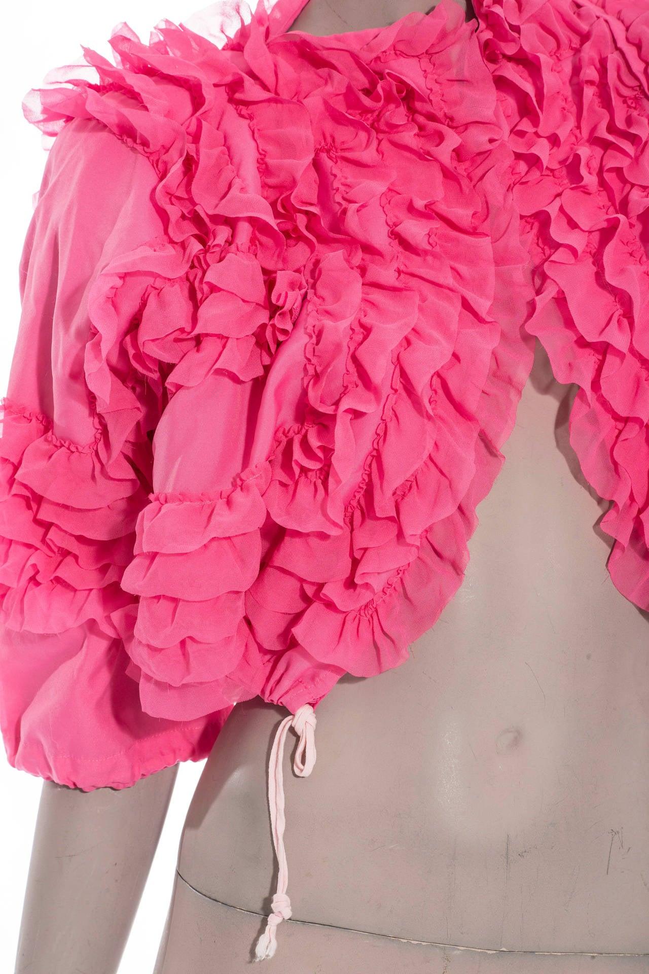 Comme des Garcons Pink Bolero, Circa 2007 5