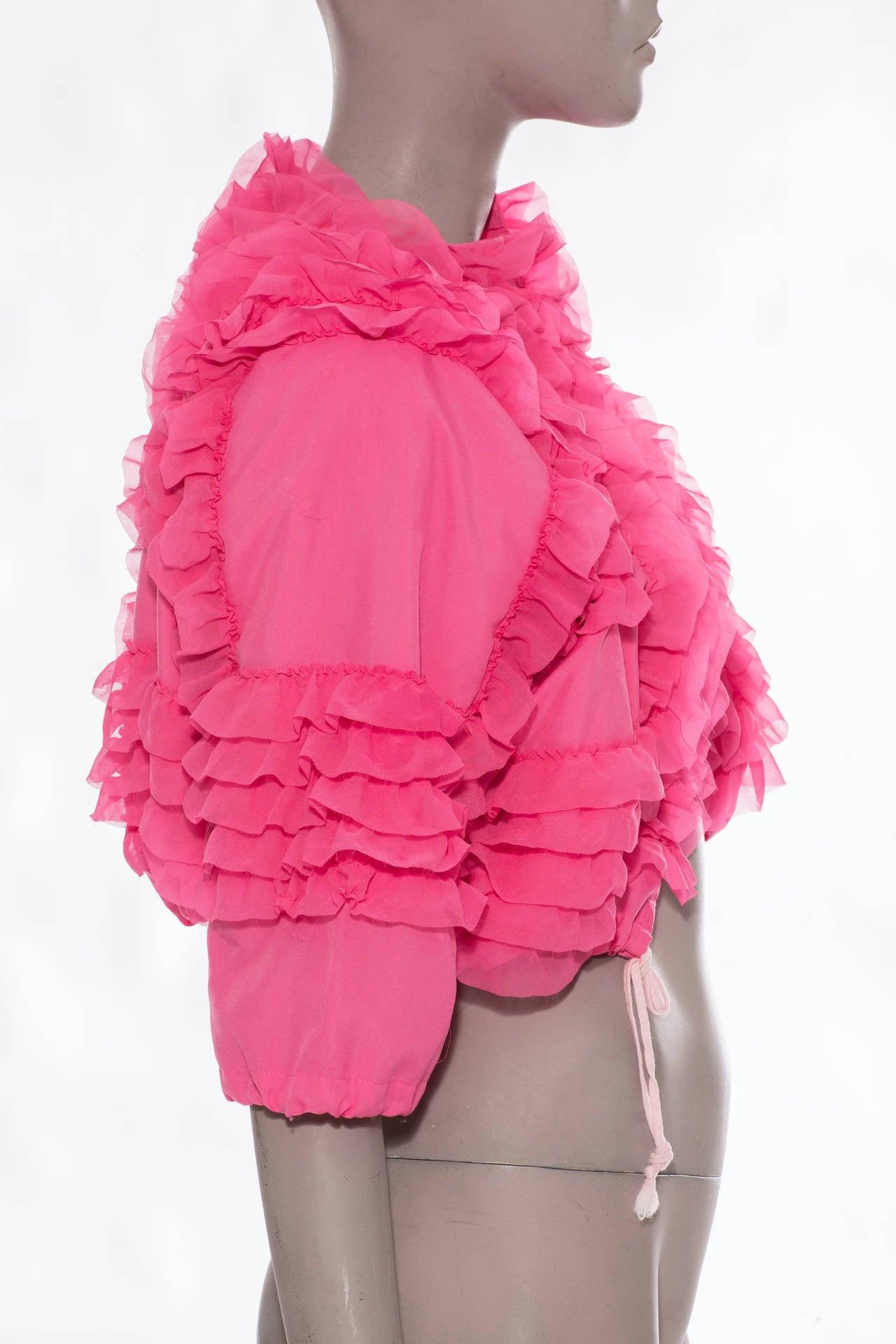 Comme des Garcons Pink Bolero, Circa 2007 3
