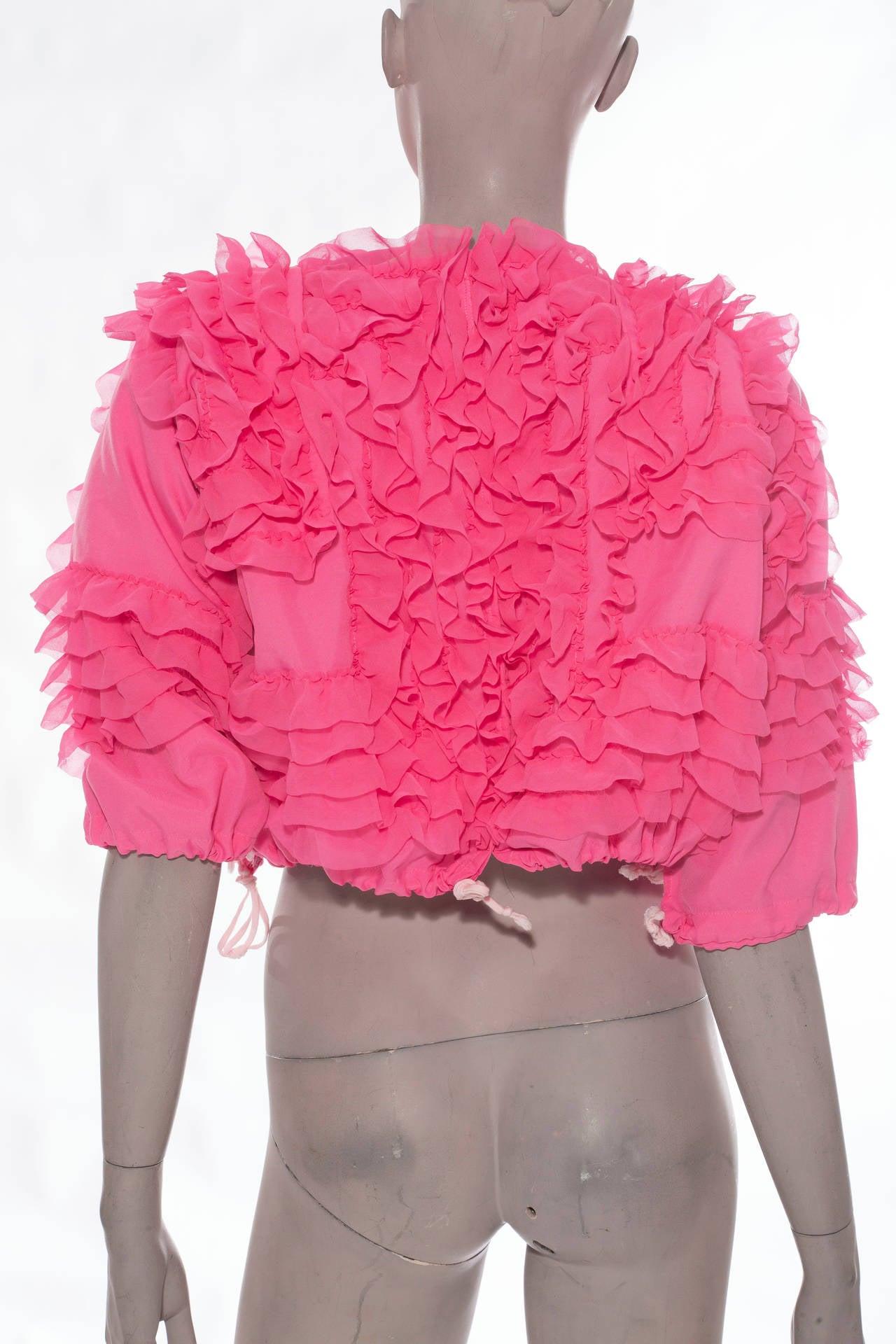 Comme des Garcons Pink Bolero, Circa 2007 4