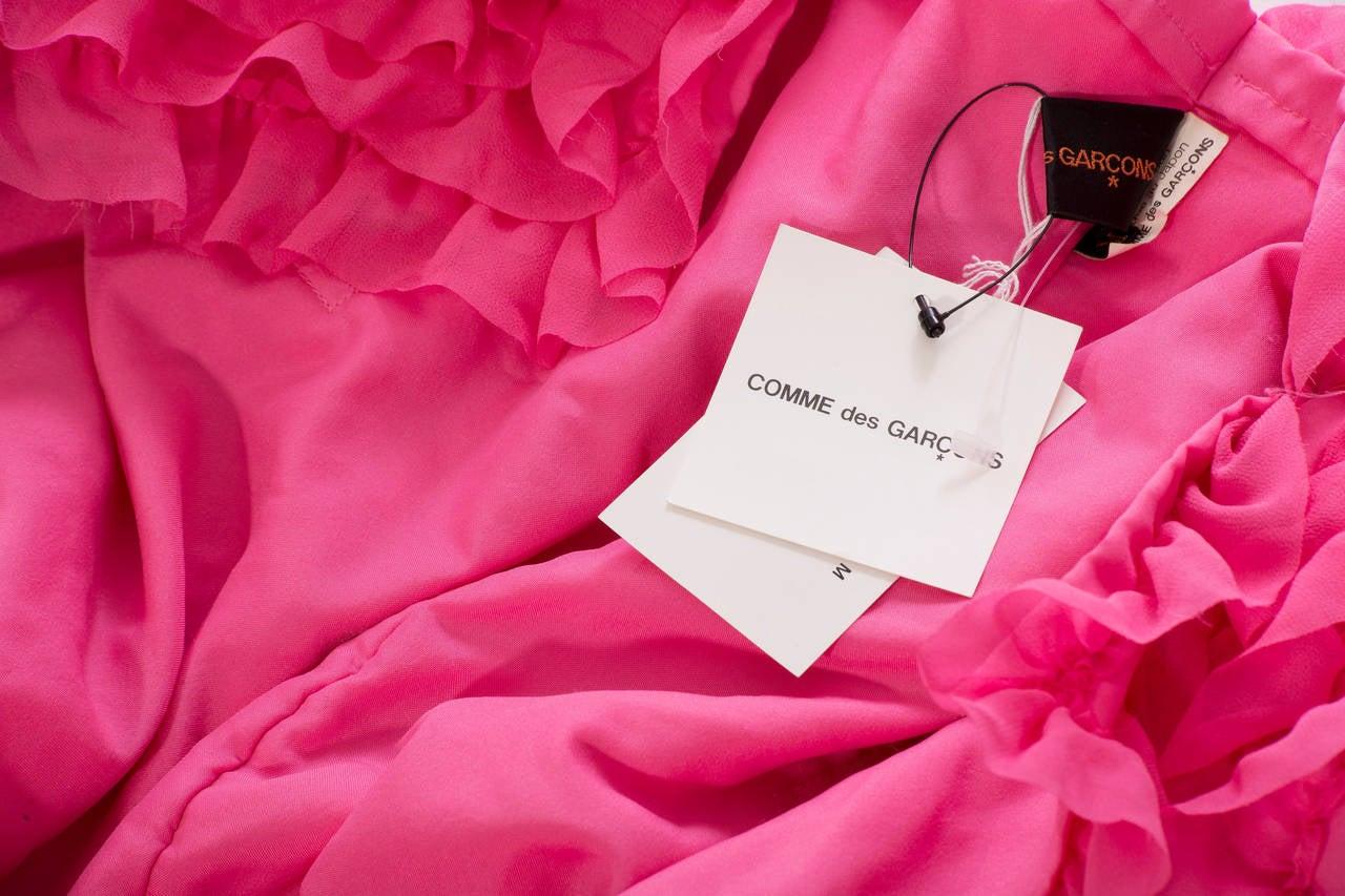 Comme des Garcons Pink Bolero, Circa 2007 7
