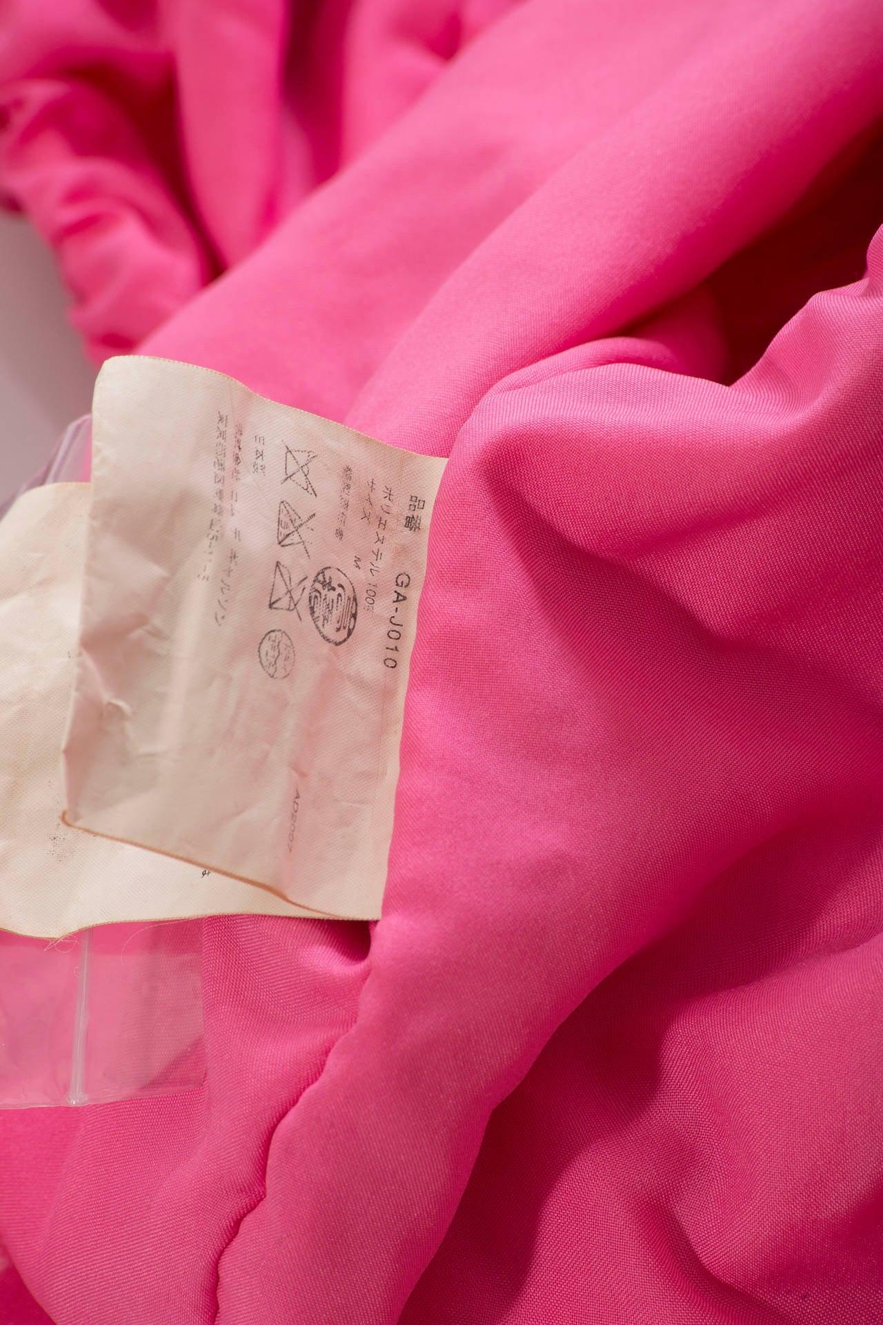 Comme des Garcons Pink Bolero, Circa 2007 8