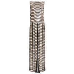 Marc Jacobs Sequin Sleeveless Evening Dress With Pleated Skirt, Spring 2013