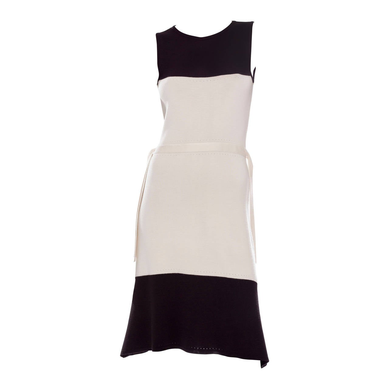 Chado Ralph Rucci Sleeveless Cashmere Dress