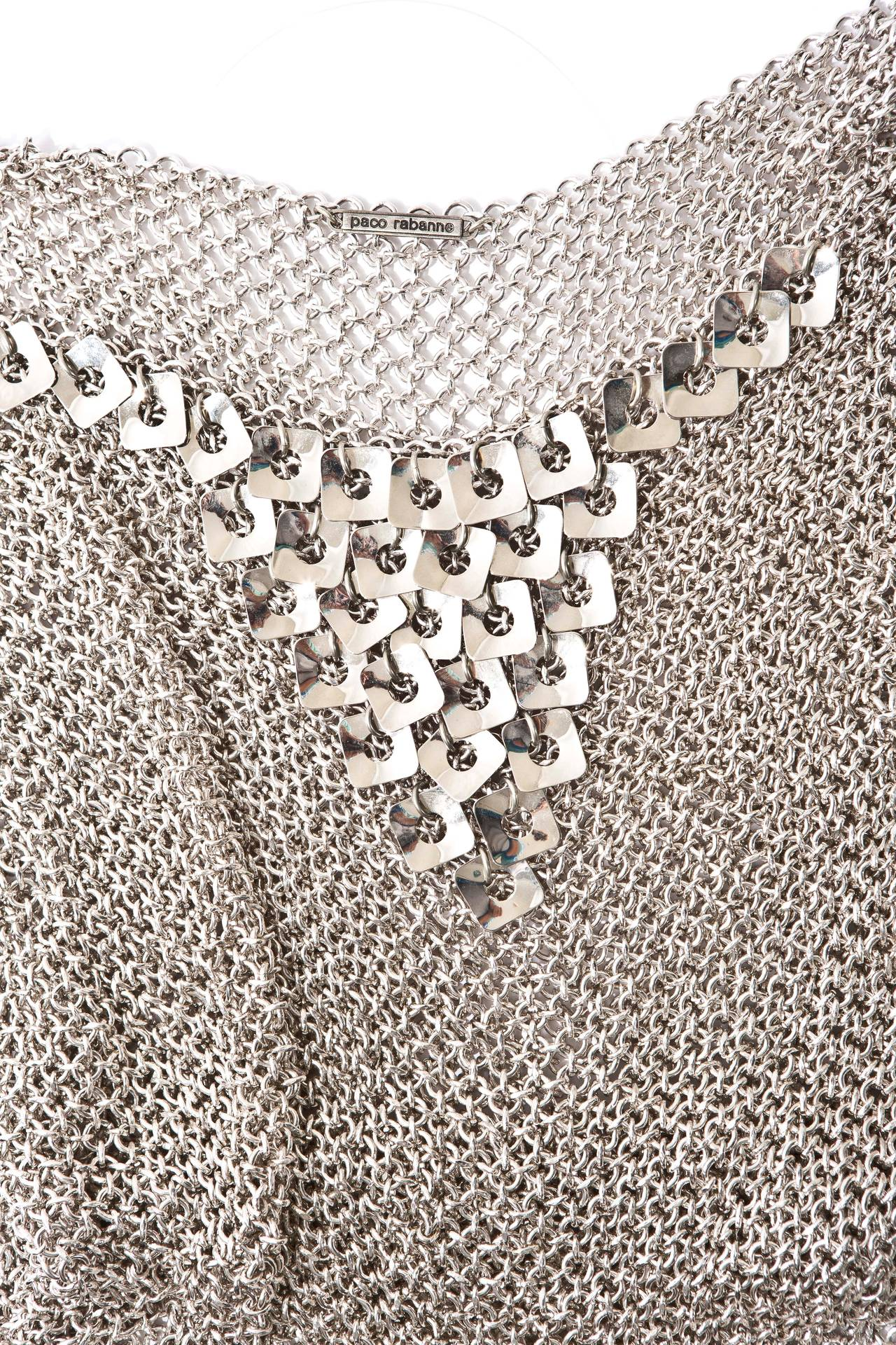 Paco Rabanne Chain Mail Top, Circa 1970's For Sale 1