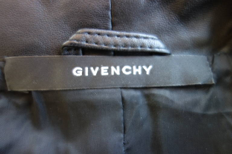 Givenchy Resort 2010 Leather Studded Jacket 9