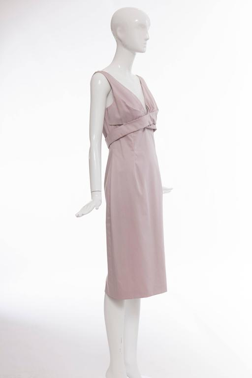 Alexander McQueen Sleeveless Cotton Lilac Dress, Spring 2006 For Sale 1