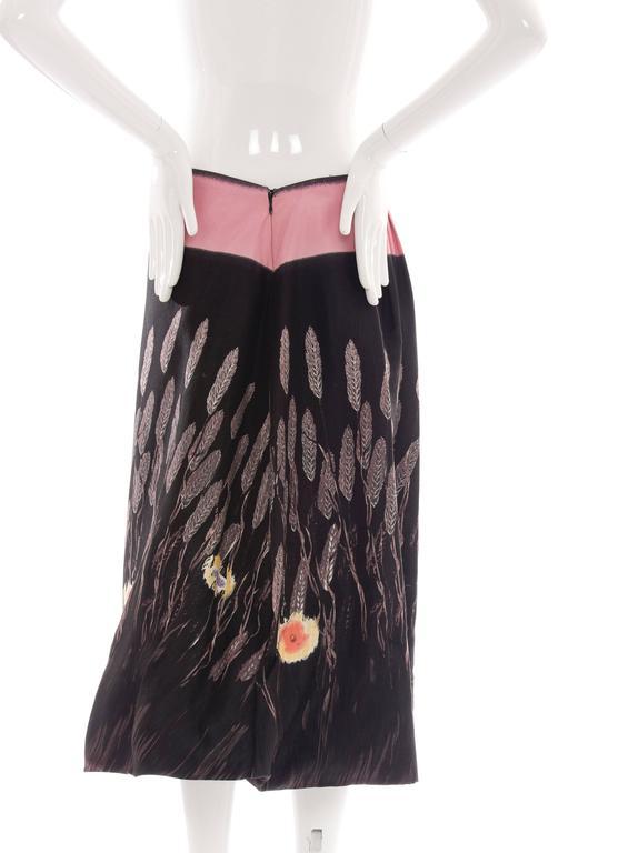 Prada Cotton - Silk Lightweight Skirt, Spring - Summer 1998 For Sale 3