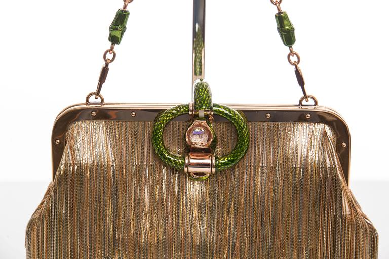 Tom Ford For Gucci Dragon Chain Fringe Evening Bag, Spring - Summer 2004 5