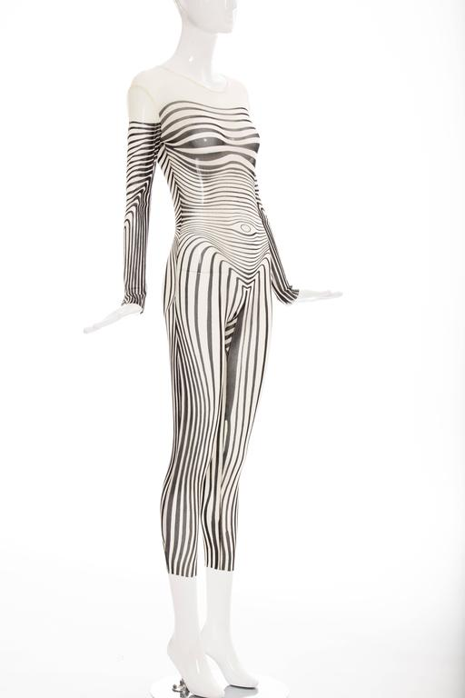 Jean Paul Gaultier Stretch Jersey Bodysuit, Spring - Summer 1996 2