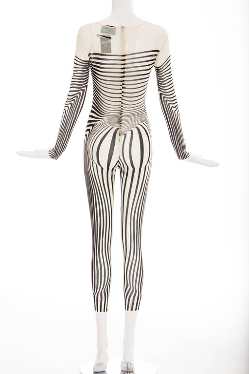 Jean Paul Gaultier Stretch Jersey Bodysuit, Spring - Summer 1996 4