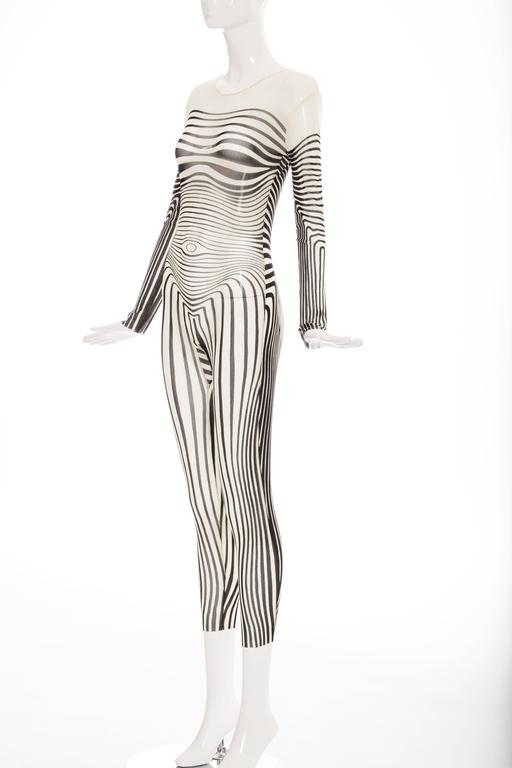 Jean Paul Gaultier Stretch Jersey Bodysuit, Spring - Summer 1996 6