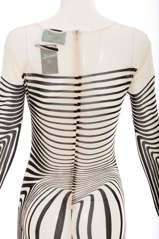 Jean Paul Gaultier Stretch Jersey Bodysuit, Spring - Summer 1996 7