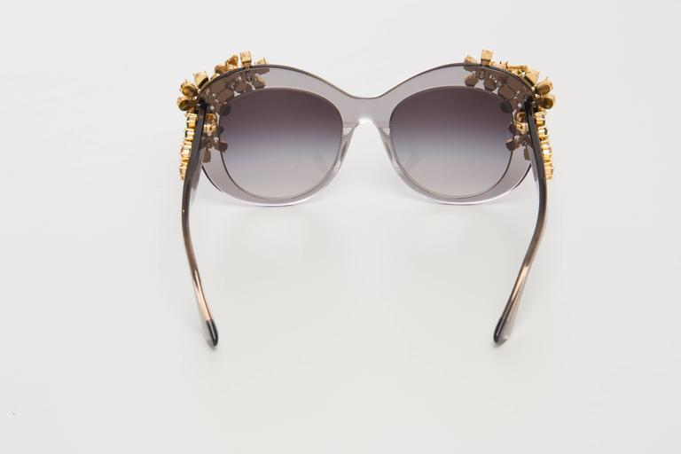 Dolce & Gabbana Enchanted Beauties Collection Sunglasses, Spring - Summer 2015 For Sale 2