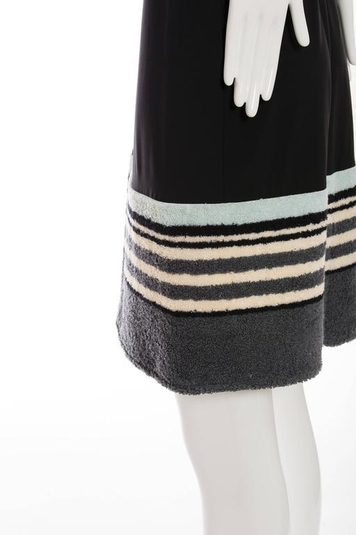 Chanel Black Halter - Dress With Terrycloth Trim, Cruise 2000 For Sale 3