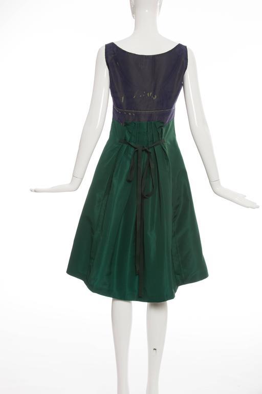 Prada Silk Appliquéd Dress, Spring - Summer 2005 In Excellent Condition For Sale In Cincinnati, OH