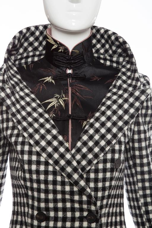 Jean Paul Gaultier Wool And Embroidered Satin Jacket, Autumn -Winter 2010 6