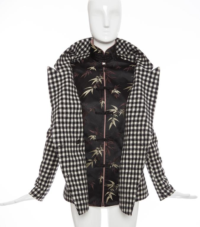 Jean Paul Gaultier Wool And Embroidered Satin Jacket, Autumn -Winter 2010 7