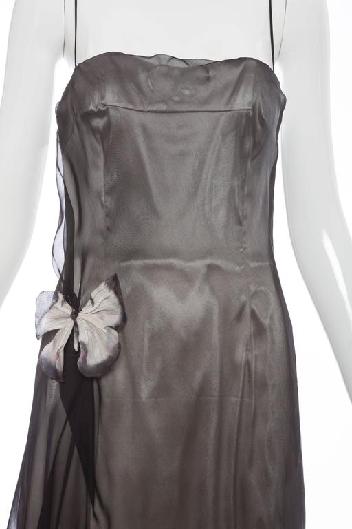 Dolce & Gabbana Stromboli Collection Silk Chiffon Dress, Spring - Summer 1998 For Sale 1