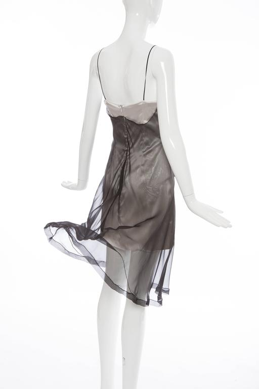 Dolce & Gabbana Stromboli Collection Silk Chiffon Dress, Spring - Summer 1998 For Sale 2