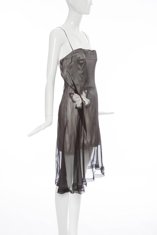 Dolce & Gabbana Stromboli Collection Silk Chiffon Dress, Spring - Summer 1998 For Sale 4