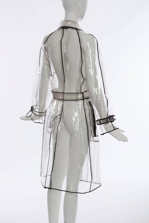 Prada Transparent PVC Rain Coat, Autumn - Winter 2002 - 2003 For Sale 2