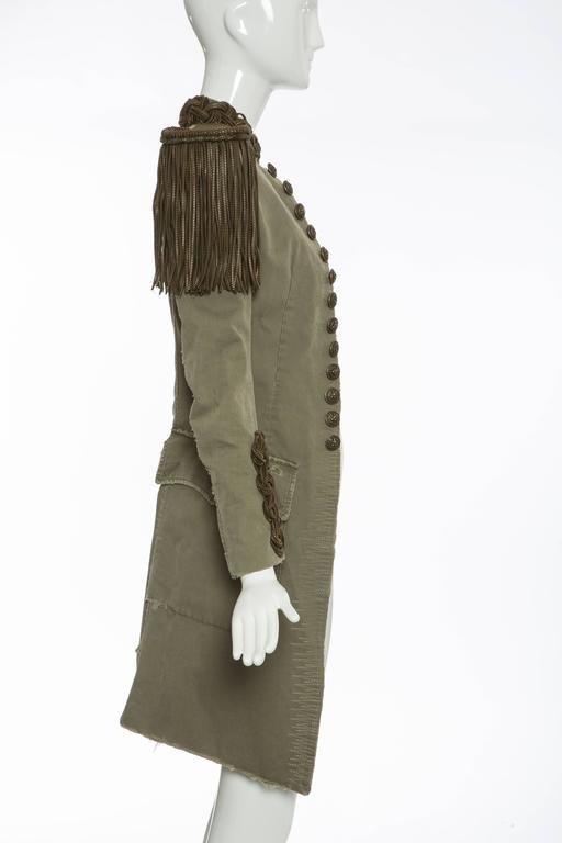Balmain By Christophe Decarnin Military Jacket, Spring - Summer 2010 3