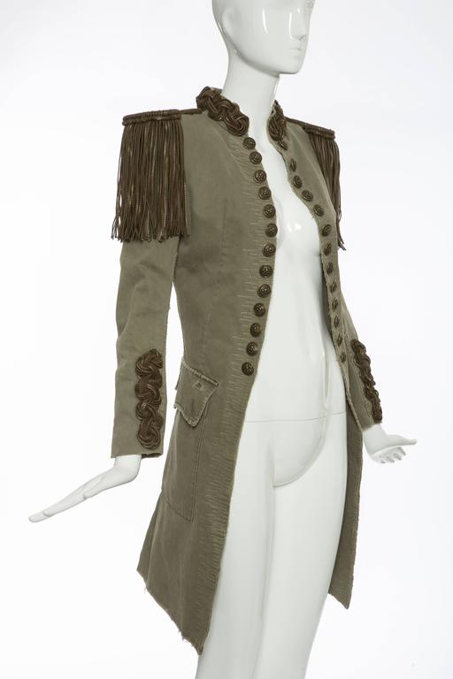 Balmain By Christophe Decarnin Military Jacket, Spring - Summer 2010 5