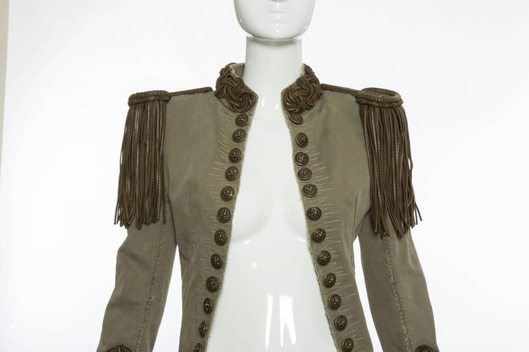 Balmain By Christophe Decarnin Military Jacket, Spring - Summer 2010 6