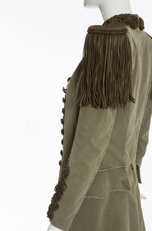 Balmain By Christophe Decarnin Military Jacket, Spring - Summer 2010 9