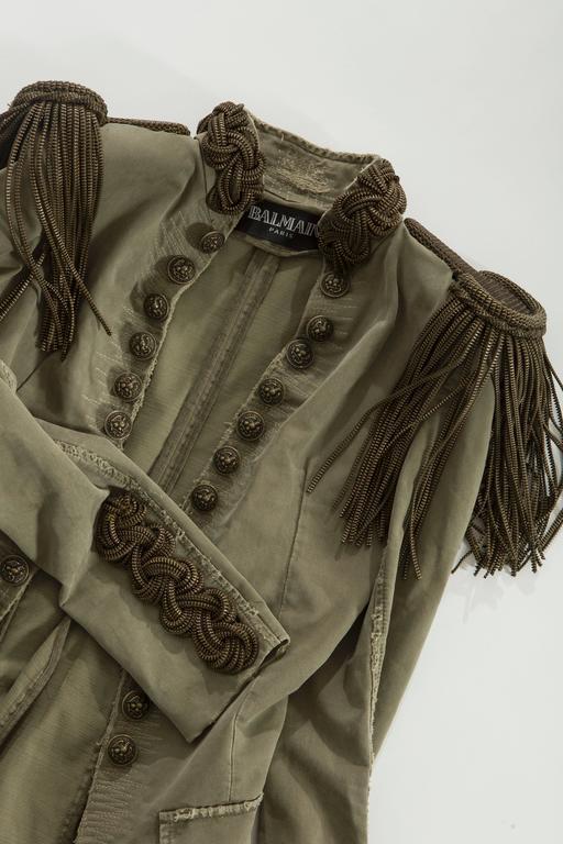 Balmain By Christophe Decarnin Military Jacket, Spring - Summer 2010 10