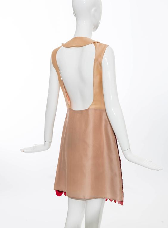 Prada Sleeveless Dress With Large Paillettes And Scoop Back, Fall 2011 For Sale 2