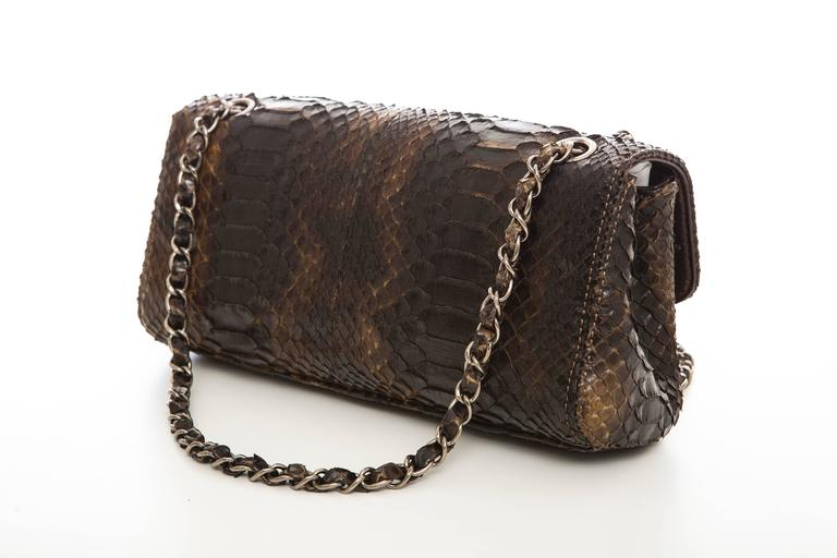 Chanel Soho Tassel Single Flap Python Medium Bag, Autumn - Winter 2006 5