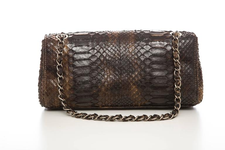 Chanel Soho Tassel Single Flap Python Medium Bag, Autumn - Winter 2006 6