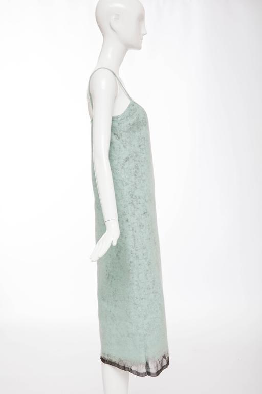 John Bartlett Boiled Wool Shift Dress, Autumn - Winter 1999 3
