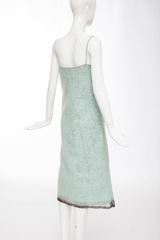 John Bartlett Boiled Wool Shift Dress, Autumn - Winter 1999 7