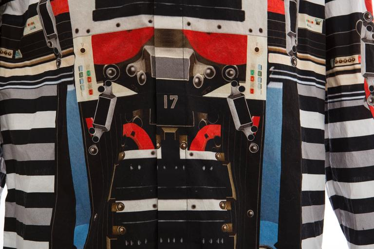 Givenchy By Riccardo Tisci Men's Cotton Print Shirt, Spring -Summer 2014 For Sale 3