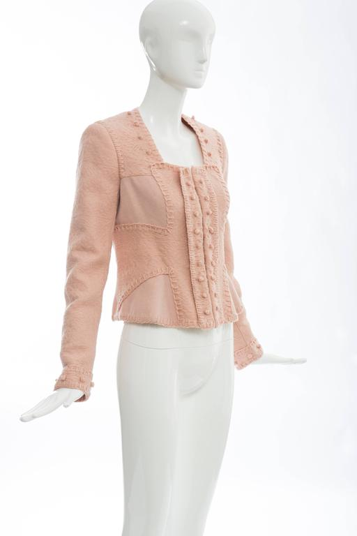 Women's Yves Saint Laurent By Stefano Pilati Wool Jacket, Autumn - Winter 2005 For Sale
