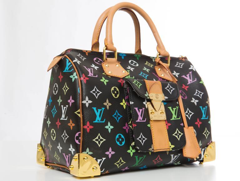 0cab5bff8d9b Louis Vuitton Limited Edition Takashi Murakami Collection Speedy 30 ...