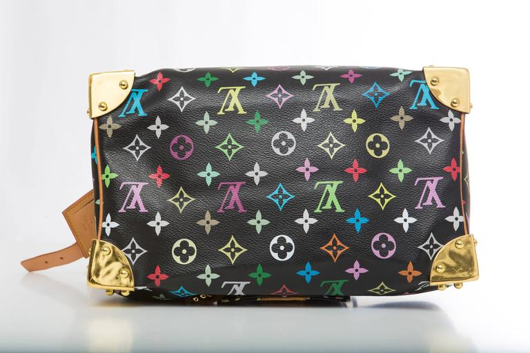 b9adc9b3c15e Louis Vuitton Limited Edition Takashi Murakami Collection Speedy 30 Hand Bag  For Sale 1