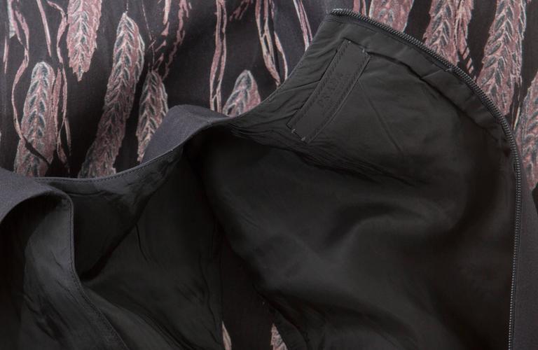 Prada Silk Cotton Printed Sleeveless Sheath Dress, Spring - Summer 1998 For Sale 4