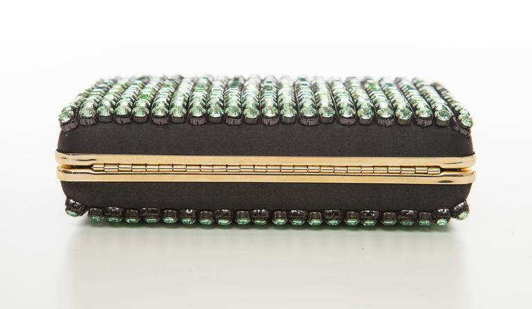 Alber Elbaz For Lanvin Minaudière Clutch Graduating Ombre Crystals, Spring 2012 For Sale 3