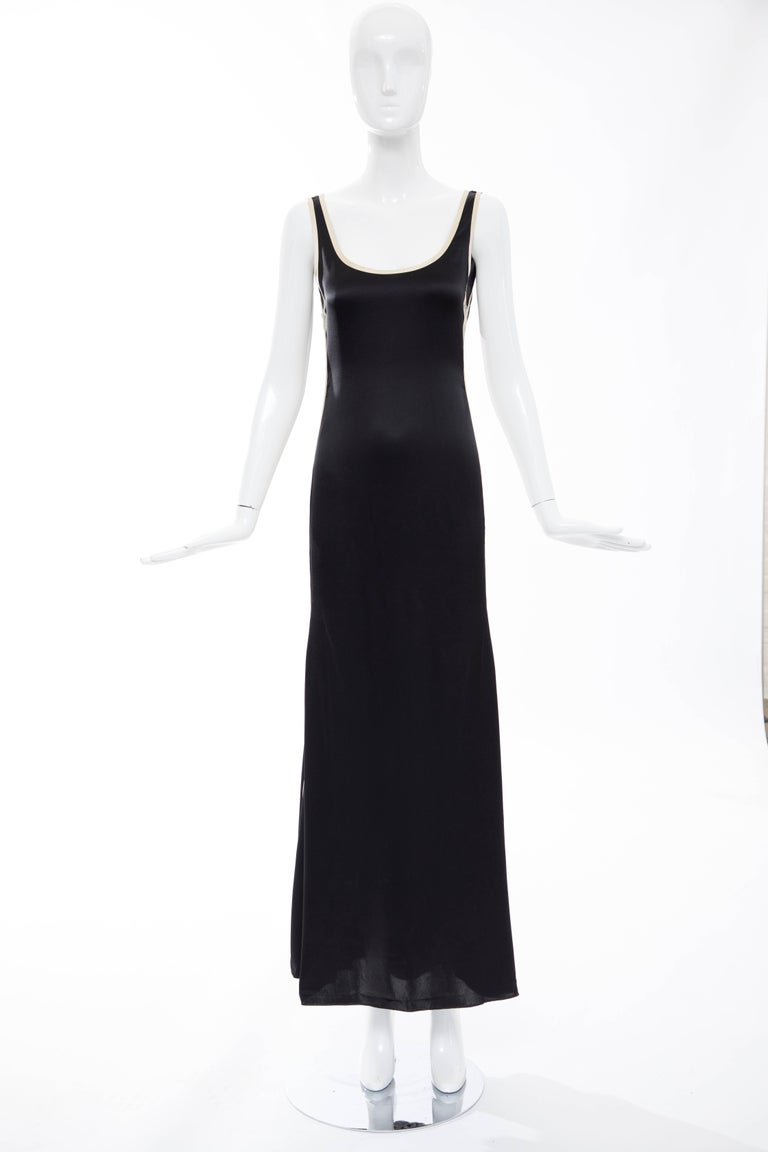 Jean Paul Gaultier Silk Embroidered Evening Dress, Spring 2007 2