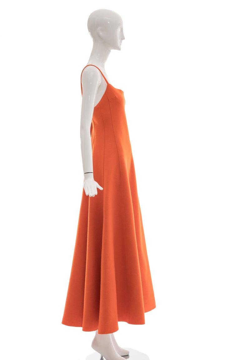Ralph Lauren Collection Wool Felt Evening Dress, Fall 1999 For Sale 1