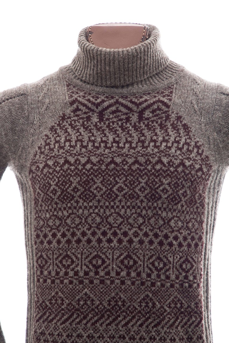 Raf Simons History of My World Wool Knit Sweater, Autumn - Winter 2005 - 2006 In Excellent Condition For Sale In Cincinnati, OH