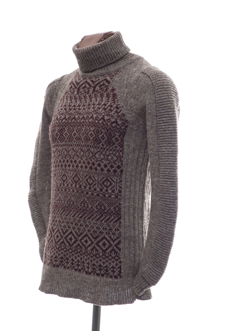Raf Simons History of My World Wool Knit Sweater, Autumn - Winter 2005 - 2006 For Sale 4