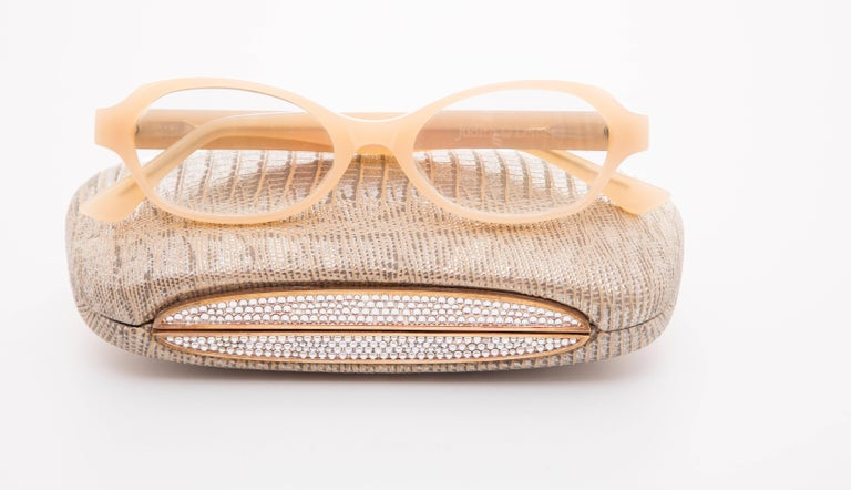 Judith Leiber Readers Reading Glasses With Crystal Case For Sale 3