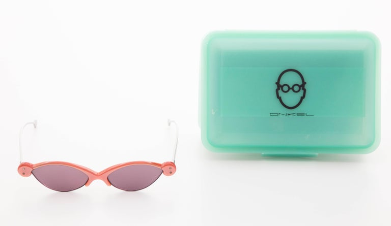 Onkel German prescription sunglasses with klick box.