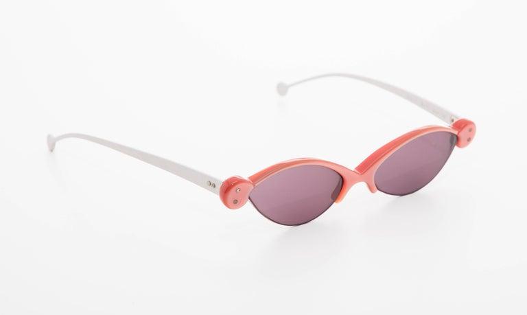 Beige Onkel German Sunglasses  For Sale
